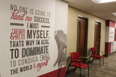 wall art in Russell Hall